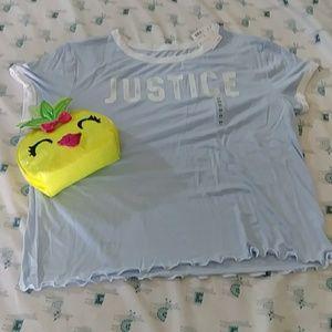 Justice Crop t-shirt